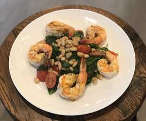 Shrimp entree